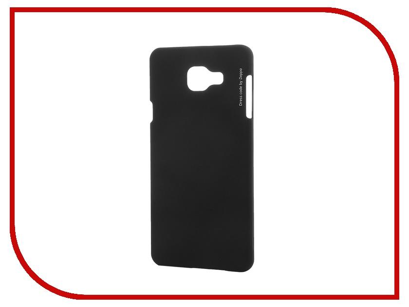 Аксессуар Чехол-накладка Samsung Galaxy A7 2016 Deppa Air Case + защитная пленка Black 83233<br>