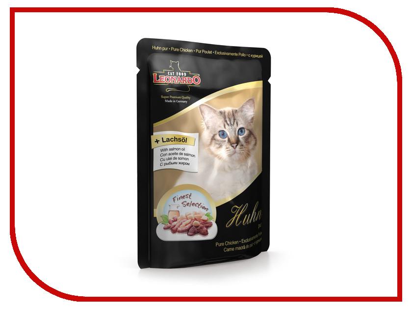 Корм Leonardo Пауч с курицей 85g для кошек 41868<br>