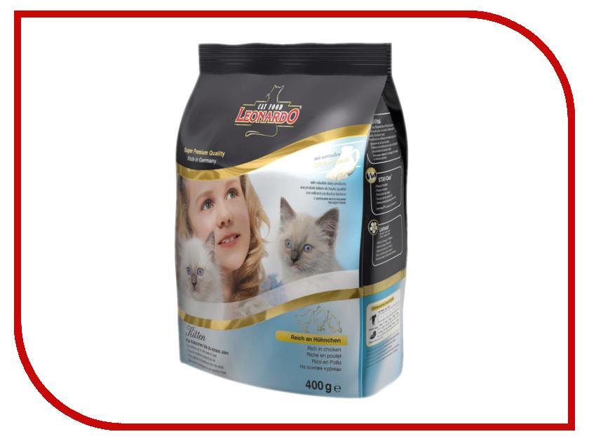 Корм Leonardo 400g для котят до 12 месяцев, для беременных и кормящих кошек 19751<br>