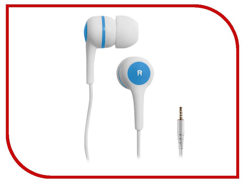 Наушники BBK EP-1260S White-Blue проводные наушники bbk ep 1401s white