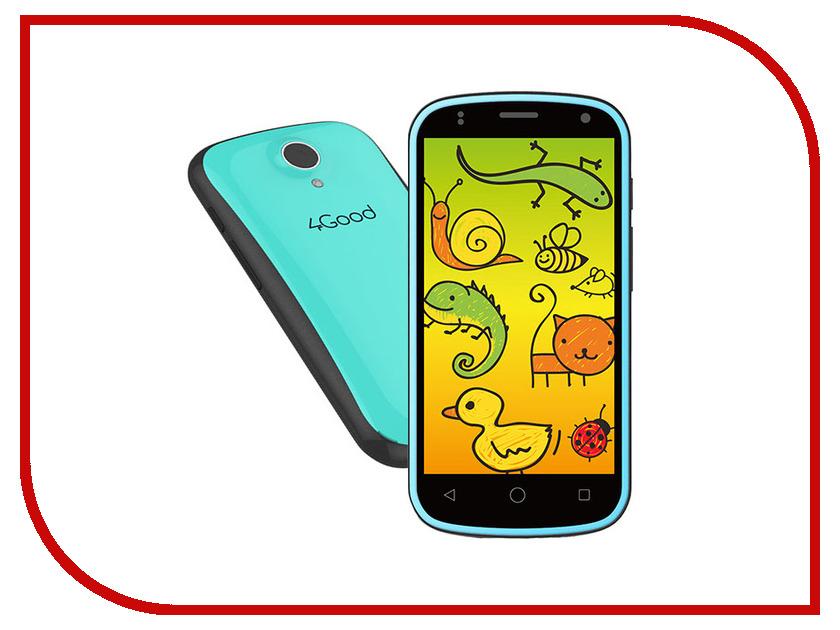все цены на  Сотовый телефон 4Good S45 Kids Blue  онлайн