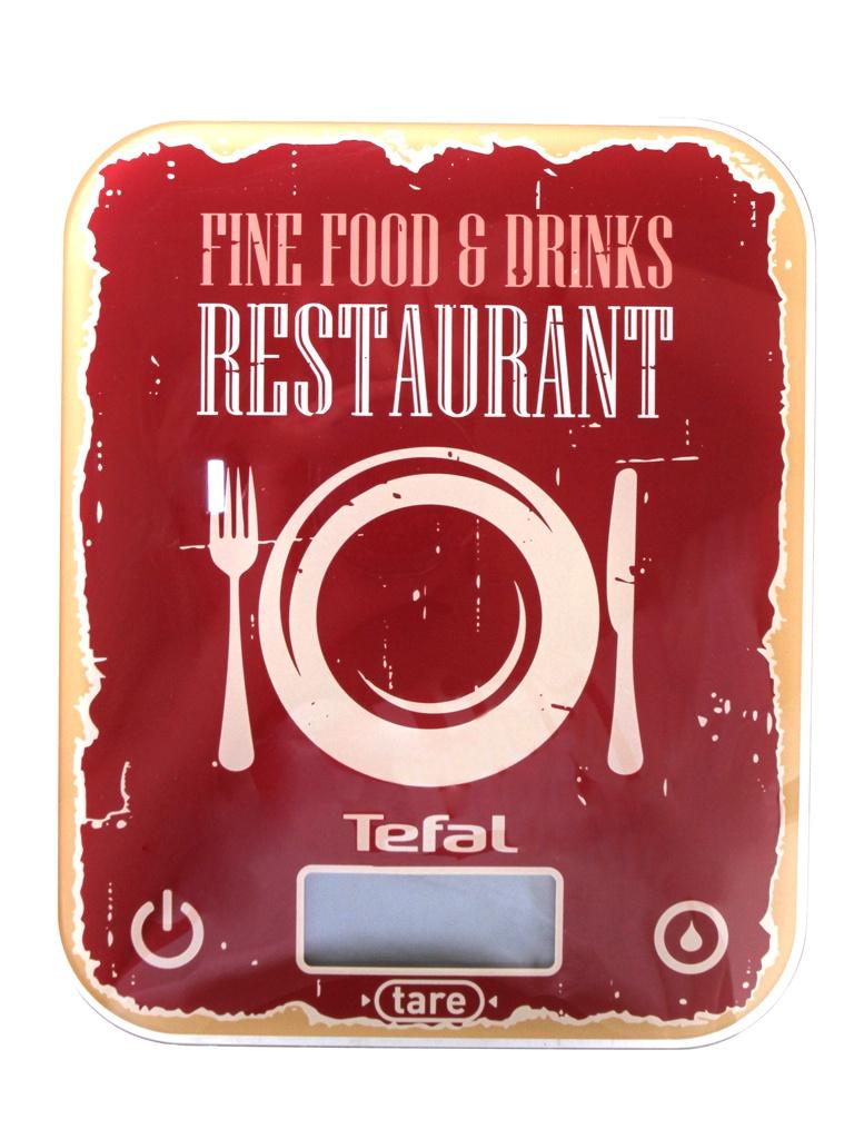 Весы Tefal BC5104V1 весы кухонные tefal bc5104v1 красный рисунок