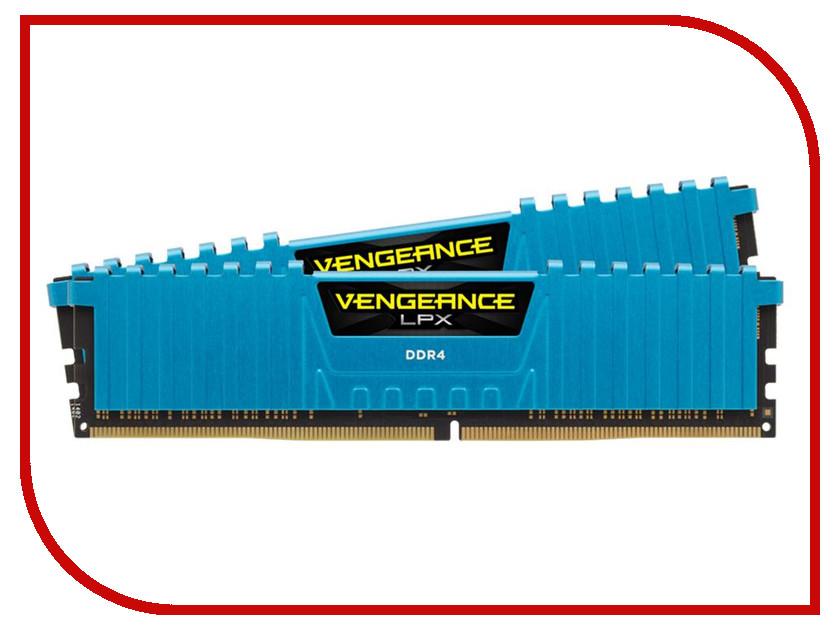 Модуль памяти Corsair Vengeance LPX PC4-24000 DIMM DDR4 3000MHz CL15 - 16Gb (2x8Gb) CMK16GX4M2B3000C15B оперативная память corsair vengeance lpx 2x8gb ddr4 dimm 3600мгц cl18 cmk16gx4m2b3600c18r