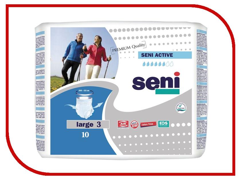 Подгузники Seni Active Large 10шт SE-096-LA10-RU1 Трусы<br>