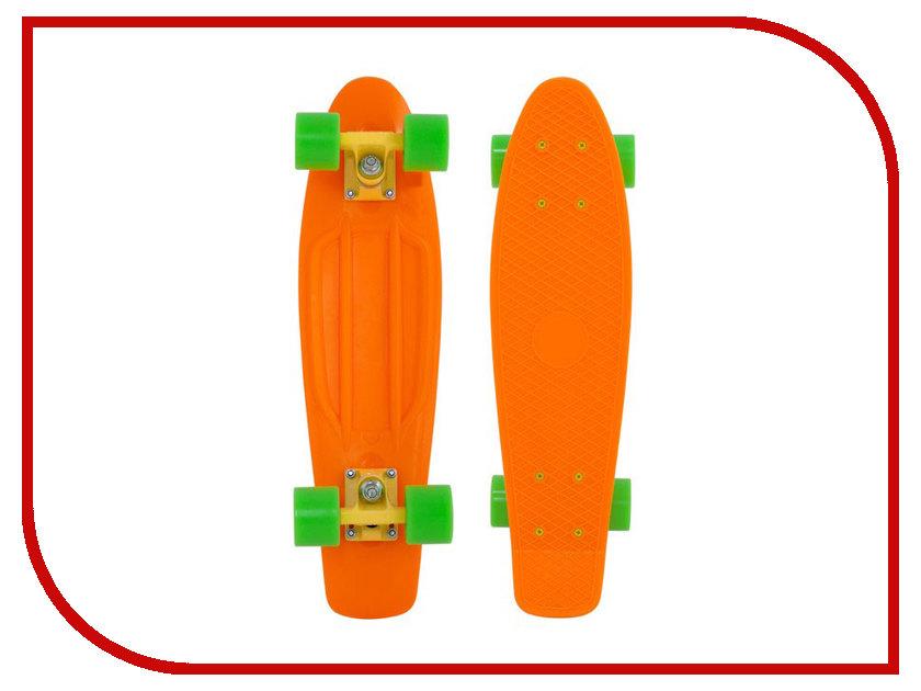 Скейт Maxcity Plastic Board Small Orange<br>