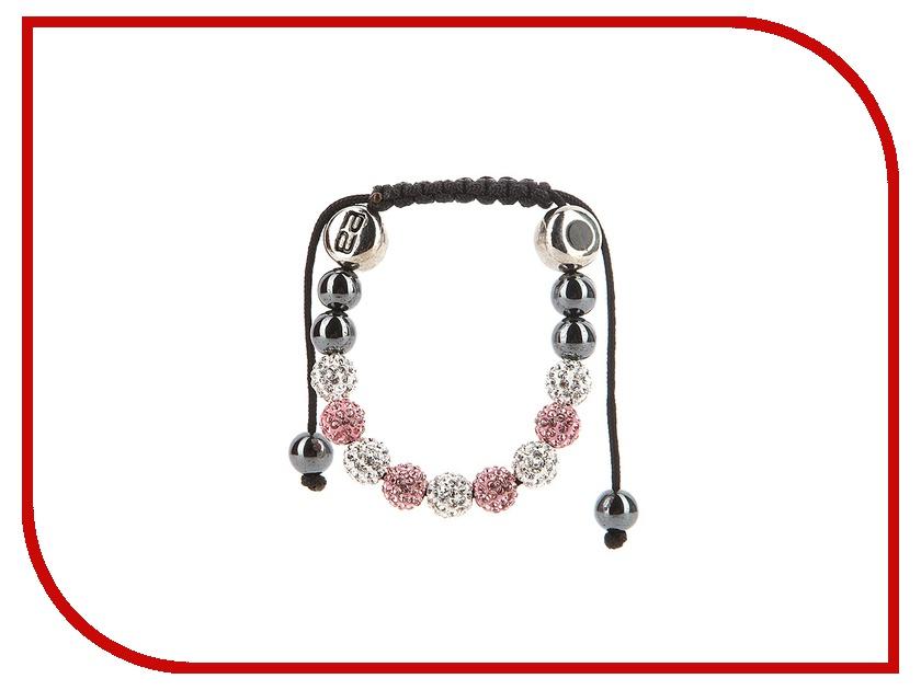 Браслет Energy-Armor Womens Shambala Style Bracelet Pink & Silver