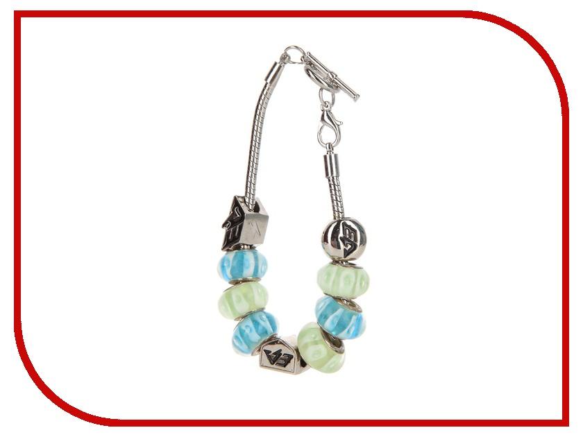 Браслет Energy-Armor Womens Charm Bracelet Turquoise - Lime Green S