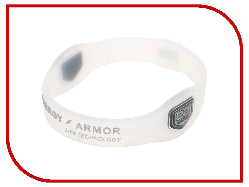 Браслет Energy-Armor Clear Silver L<br>