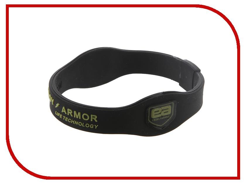 Браслет Energy-Armor Black-Lime L