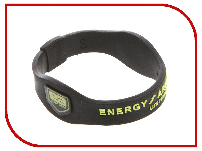Браслет Energy-Armor Black-Lime S<br>