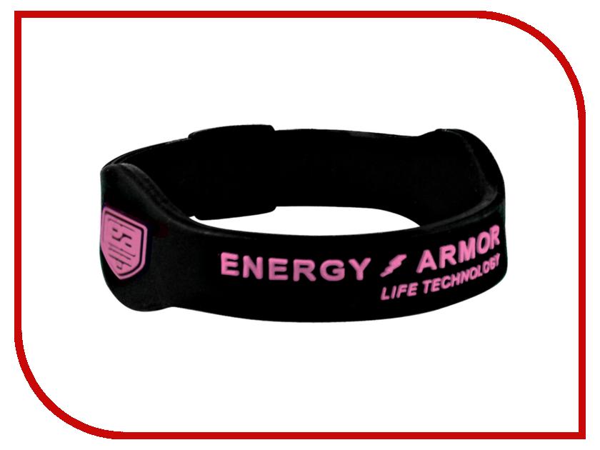 Браслет Energy-Armor Black-Pink L