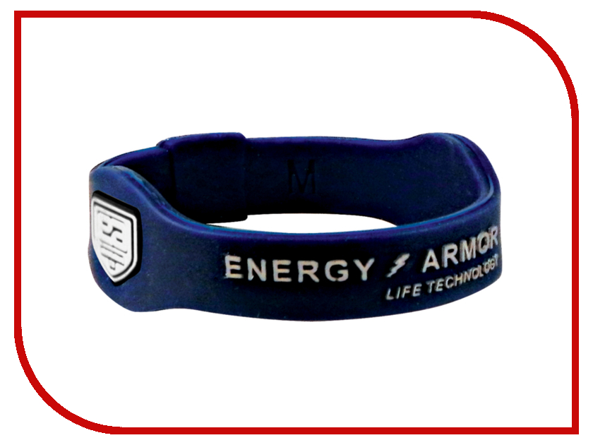 Браслет Energy-Armor Blue-Silver S<br>