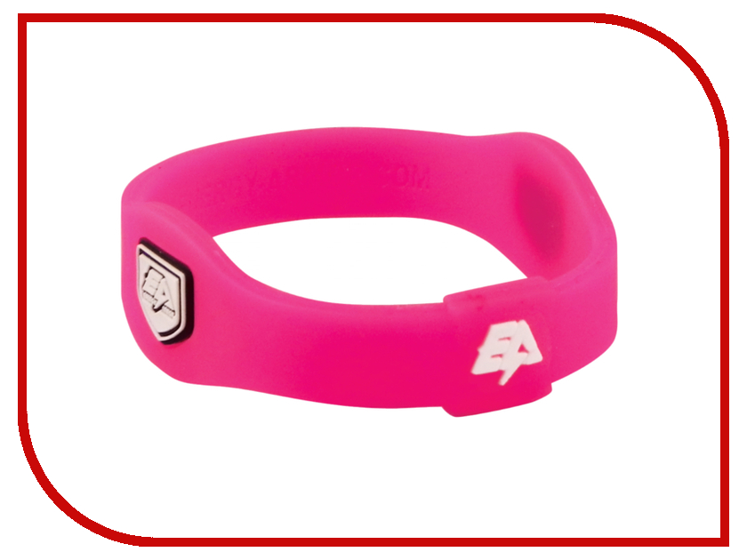 Браслет Energy-Armor Pink-White XS