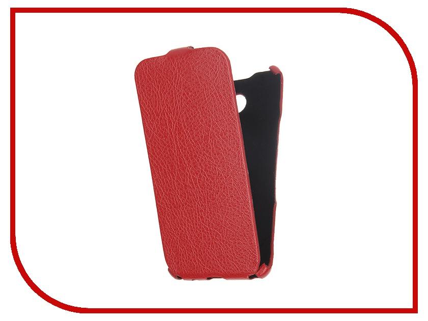 Аксессуар Чехол Cojess for Samsung Galaxy A5 2016 Ultra Slim Экокожа Флотер Red<br>