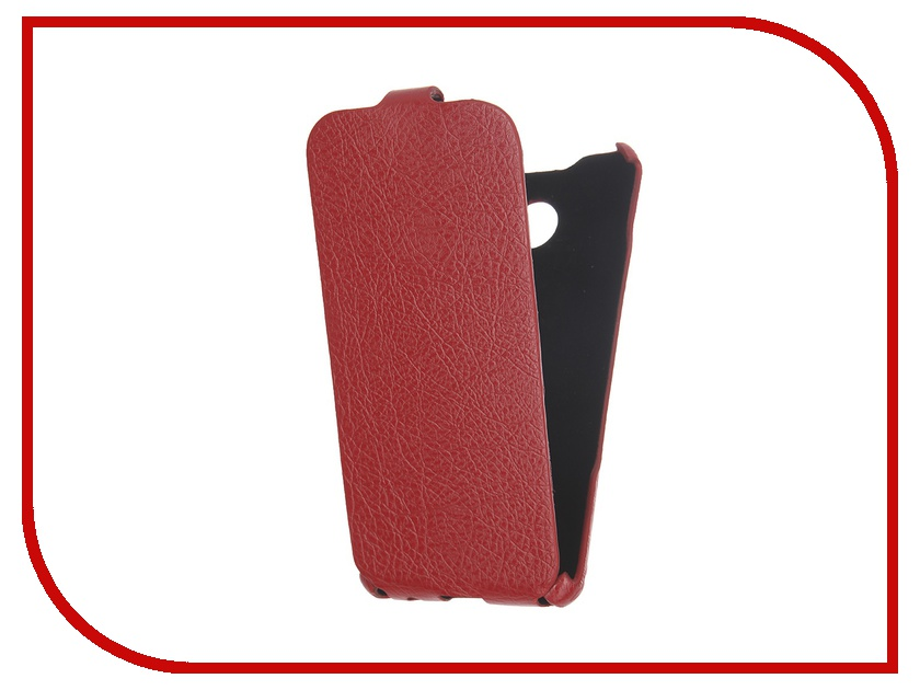 ��������� ����� Cojess for Samsung Galaxy A3 2016 Ultra Slim ������� ������ Red