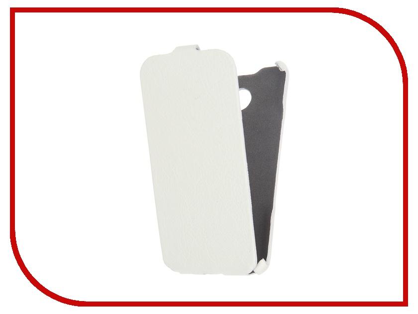 Аксессуар Чехол Cojess for Samsung Galaxy A3 2016 Ultra Slim Экокожа Флотер White<br>