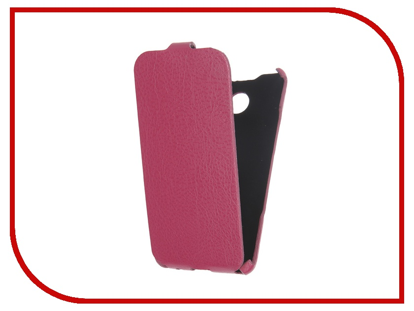 Аксессуар Чехол Cojess for Samsung Galaxy A3 2016 Ultra Slim Экокожа Флотер Pink Fuchsia<br>