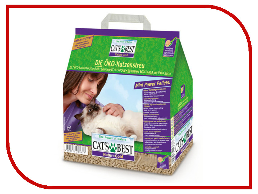 Наполнитель CatS Best Nature Gold 5kg cat s best nature gold