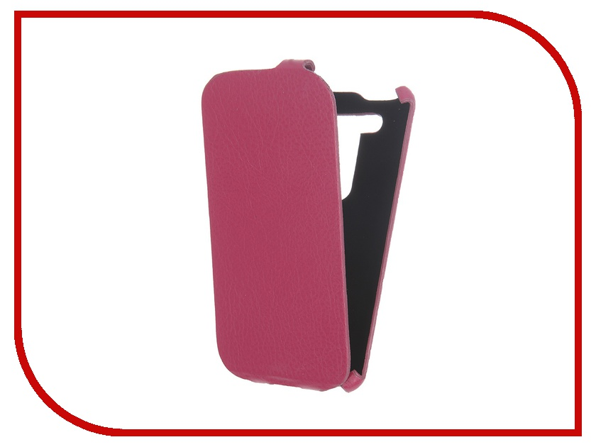 Аксессуар Чехол Cojess for ASUS ZenFone 2 Lazer ZE500KL Ultra Slim Экокожа Флотер Pink Fuchsia