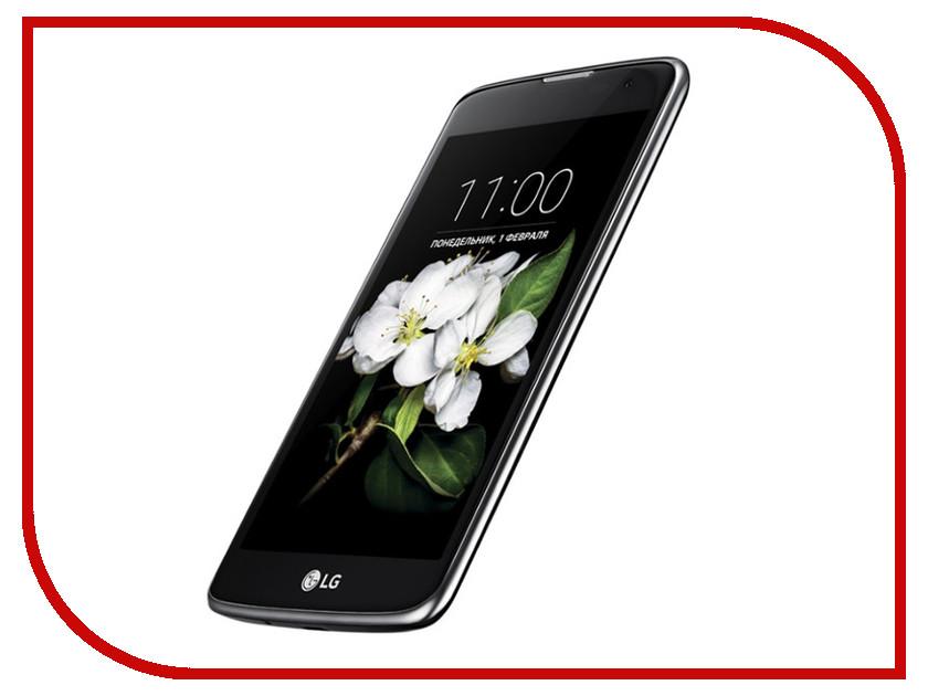 Сотовый телефон LG X210DS K7 Black<br>