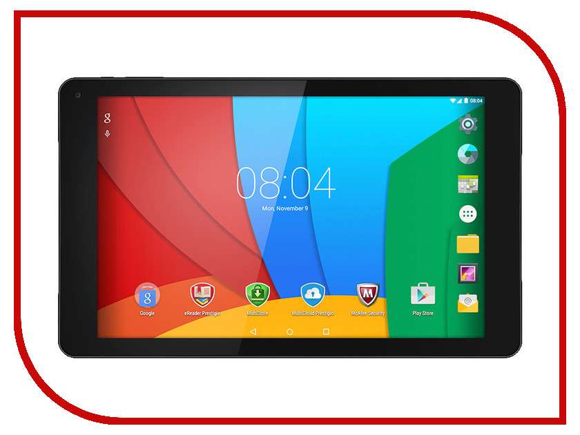 Планшет Prestigio MultiPad Wize 3331 3G Black PMT3331_3G_C_CIS Intel Atom x3 C3230RK 1.2 GHz/1024Mb/8Gb/Wi-Fi/3G/Bluetooth/Cam/10.1/1280x800/Android