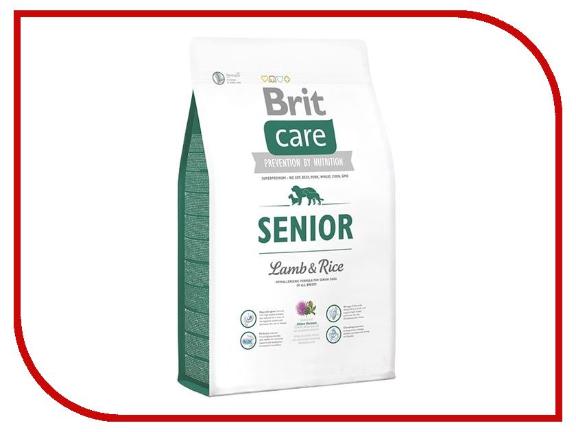 Корм Brit Care Senior All Breed 12kg для собак старше 7-ми лет 132715 корм dog chow senior ягненок 2 5kg для собак старше 9 лет 12308782