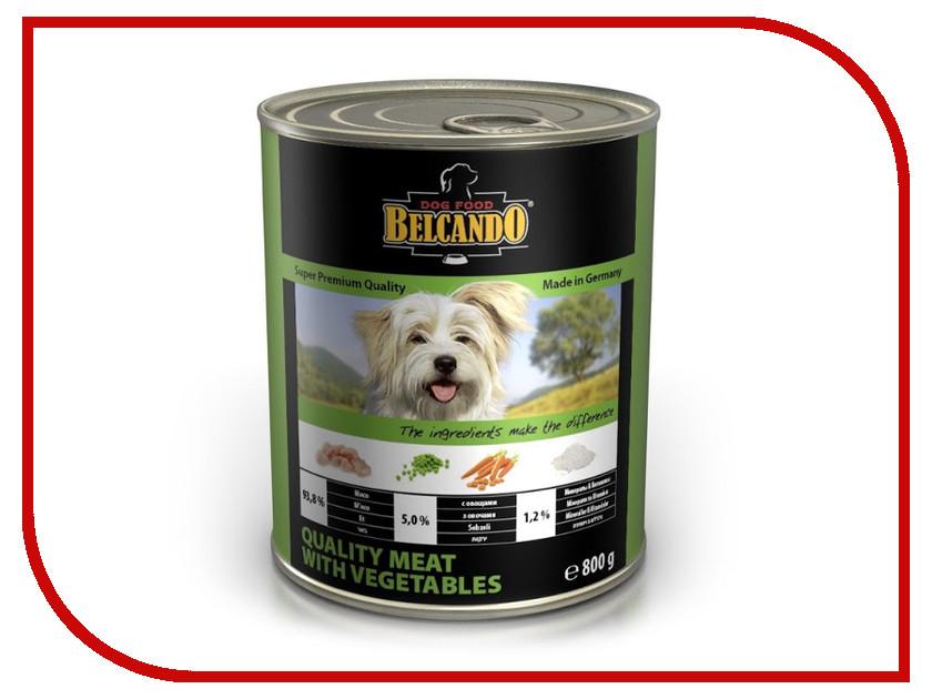 Корм BelcandO Мясо с овощами 800g для собак