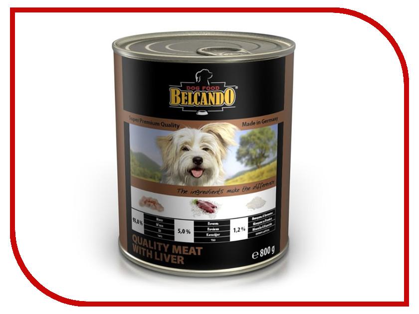 Корм BelcandO Мясо с печенью 800g для собак