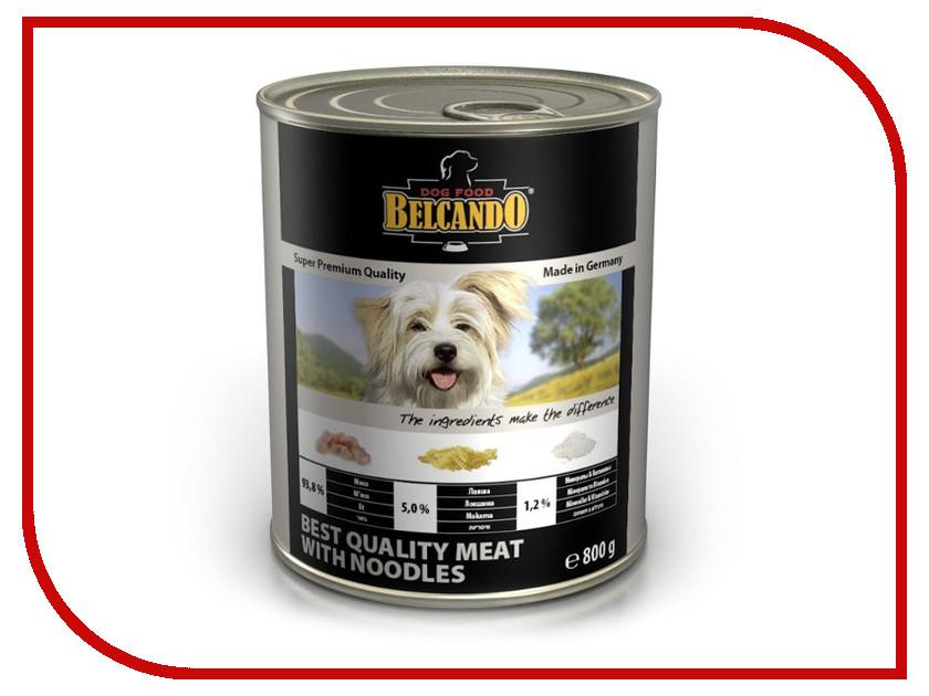 Корм BelcandO Мясо с лапшой 800g для собак