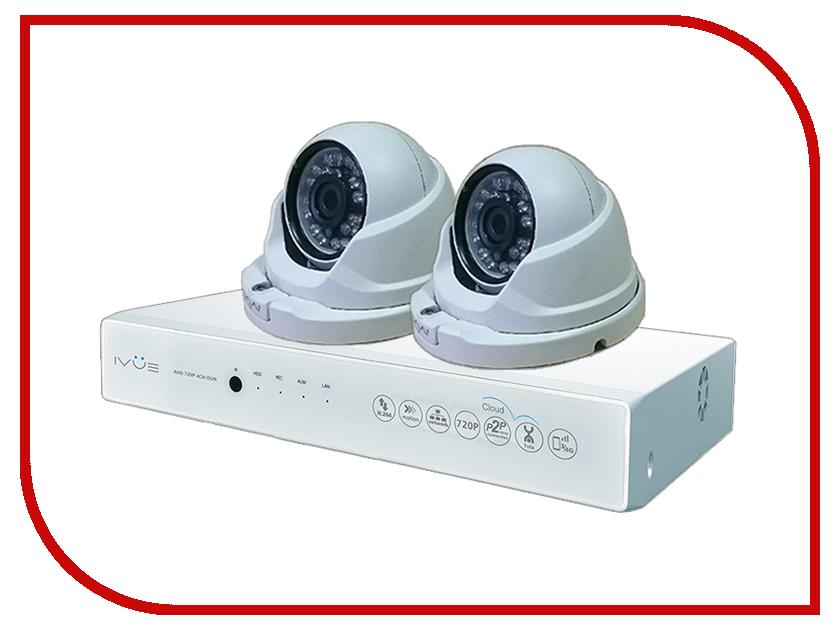 Видеонаблюдение iVUE AHD 1 MPX Дома и Офиса 4+2 IVUE-D5004 AHC-D2 видеонаблюдение ivue ahd 1 mpx дача 4 4 ivue d5004 ahc b4