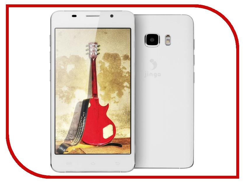 Сотовый телефон Jinga Basco L500 White<br>