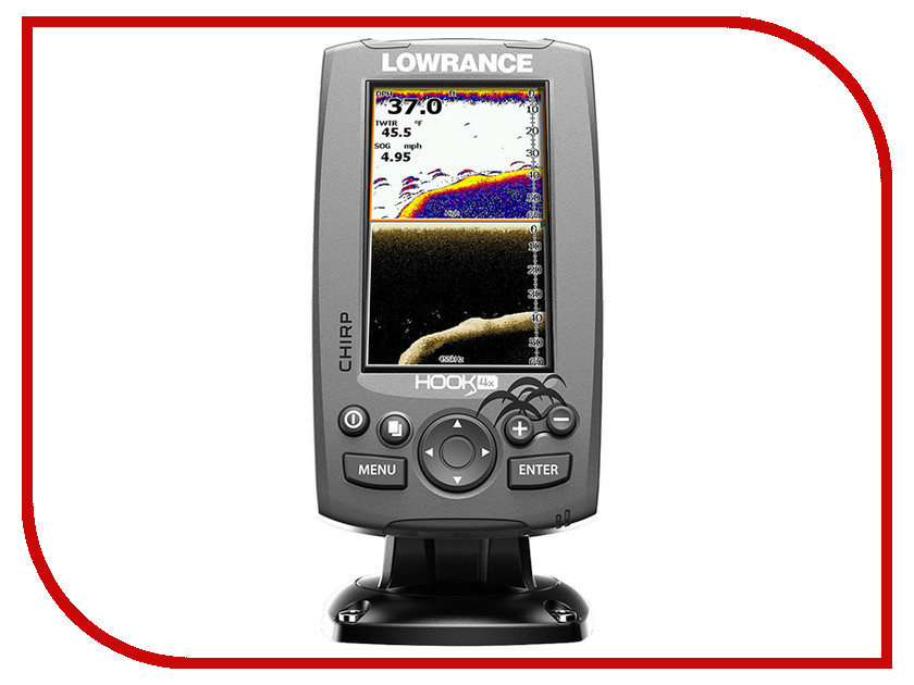 ������ Lowrance Hook-4x Mid/High 000-12640-001