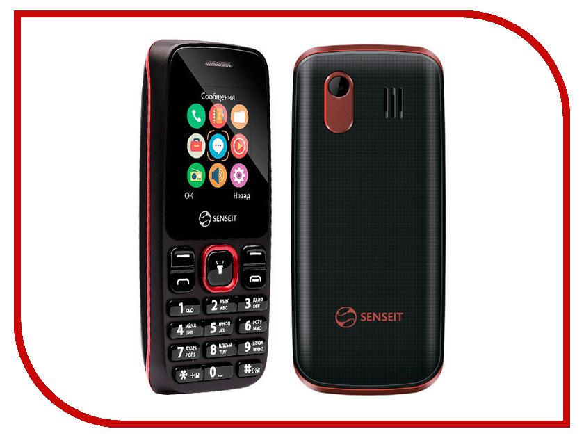 Сотовый телефон SENSEIT L105 Black<br>
