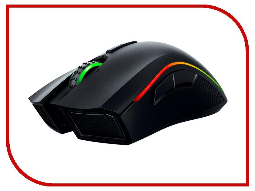 все цены на Мышь Razer Mamba Chroma Black USB RZ01-01360100-R3G1 онлайн
