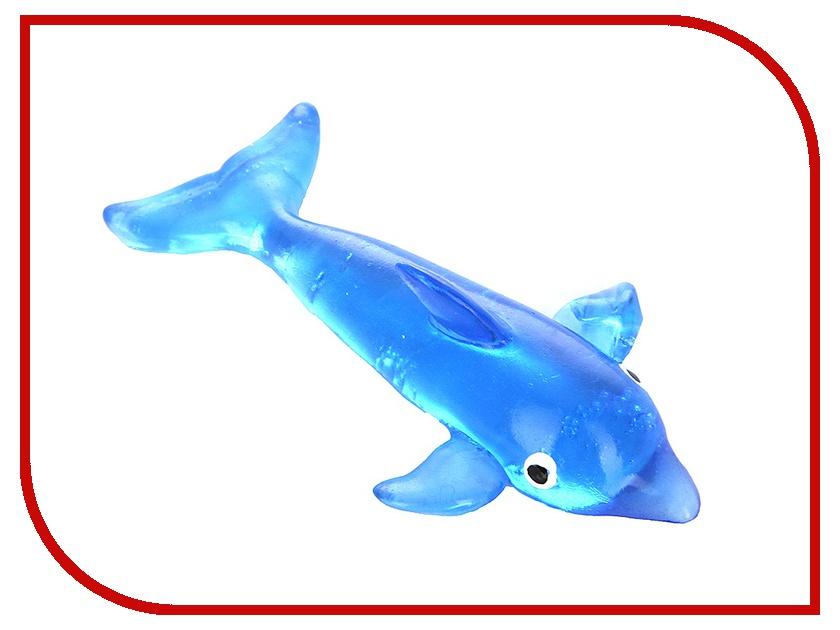 Игрушка антистресс Лизун гелевый СмеХторг Дельфины игрушка антистресс смехторг лизун яйцо яичница