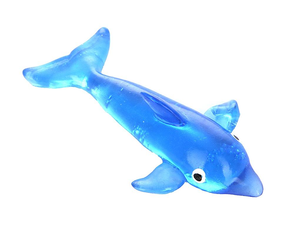 Слайм Лизун гелевый СмеХторг Дельфины