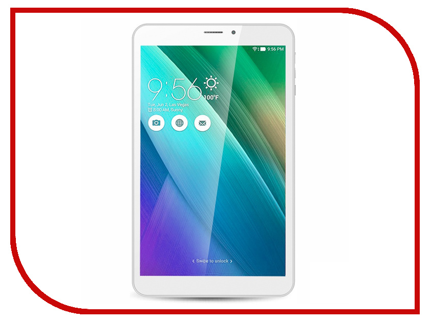 Планшет Ginzzu GT-W831 White Intel Atom x3-C3230RK 1.0 GHz/1024Mb/8Gb/Wi-Fi/3G/Bluetooth/Cam/8.0/1280x800/Android<br>