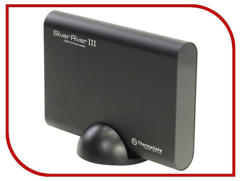 Аксессуар Контейнер для HDD Thermaltake Silver River III 5G Black ST-002-E31U3E-A1 вентилятор thermaltake riing 12 white cl f038 pl12wt a