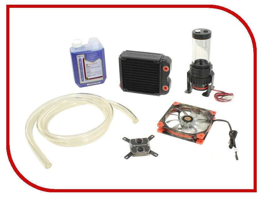 Водяное охлаждение Thermaltake Water RL140 Pacific CL-W072-CU00BL-A