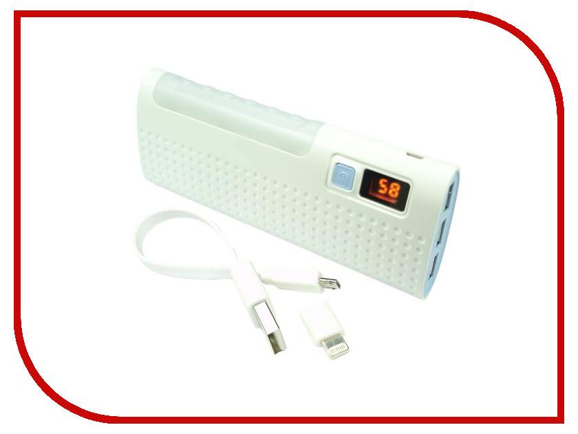 Аккумулятор Globus GL-PB23 12000 mAh White