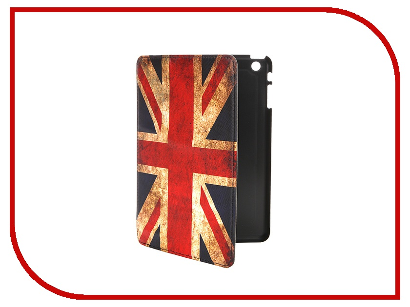 Аксессуар Чехол-обложка APPLE iPad mini SONNEN иск. кожа British Flag 352936<br>