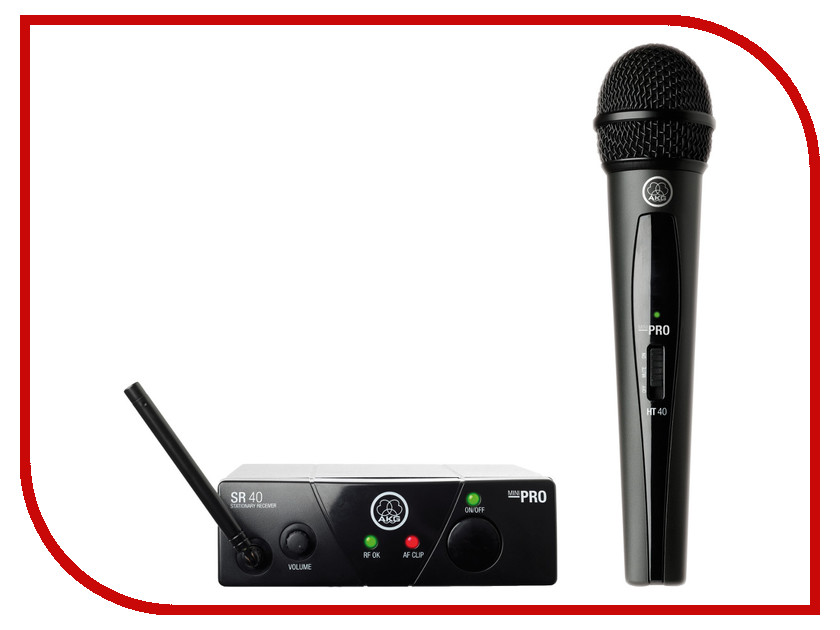 Радиомикрофон AKG WMS40 Mini Vocal Set Band ISM3