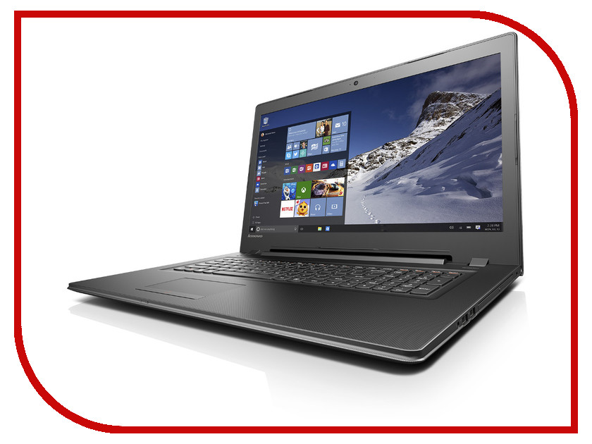 Ноутбук Lenovo IdeaPad B7180 80RJ00F2RK Intel Pentium 4405U 2.1 GHz/4096Mb/1000Gb/DVD-RW/AMD Radeon R5 M330/Wi-Fi/Bluetooth/Cam/17.3/1600x900/Windows 10 64-bit 344214