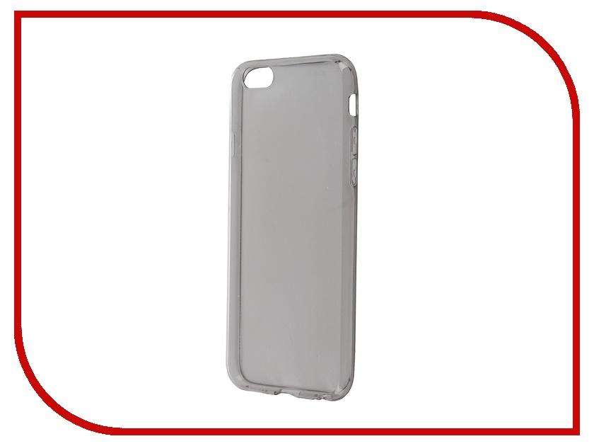 Аксессуар Чехол-накладка BROSCO для iPhone 6 / 6S Black IP6-TPU-BLACK