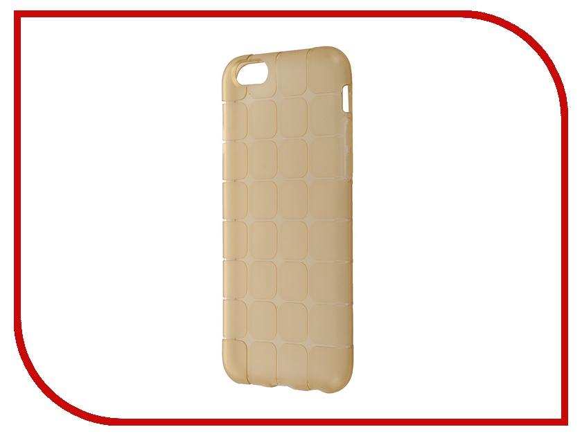 Аксессуар Чехол-накладка BROSCO Copper для iPhone 6 / 6S IP6-MESH-TPU-COPPER<br>