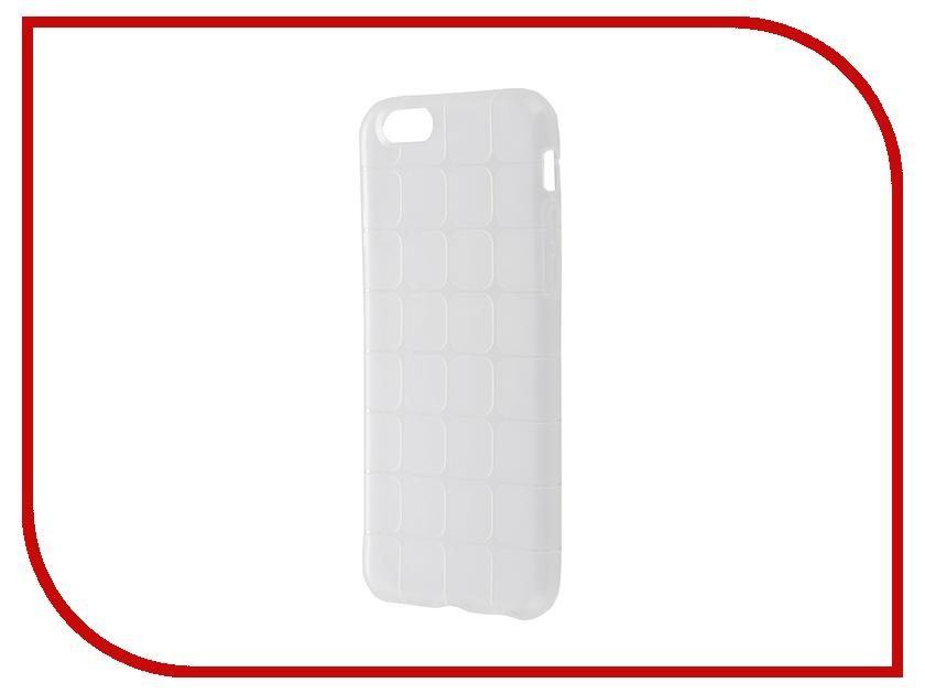 Аксессуар Чехол-накладка BROSCO для iPhone 6 / 6S IP6-MESH-TPU-TRANSPARENT<br>