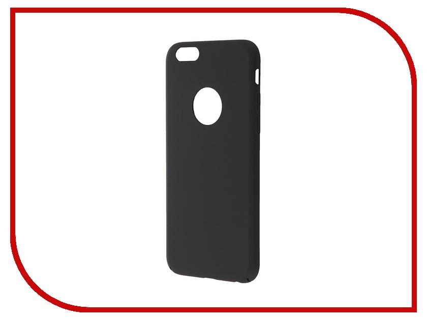 Аксессуар Чехол-накладка BROSCO Softtouch для iPhone 6 Black IP6-SS-SOFTTOUCH-BLACK<br>