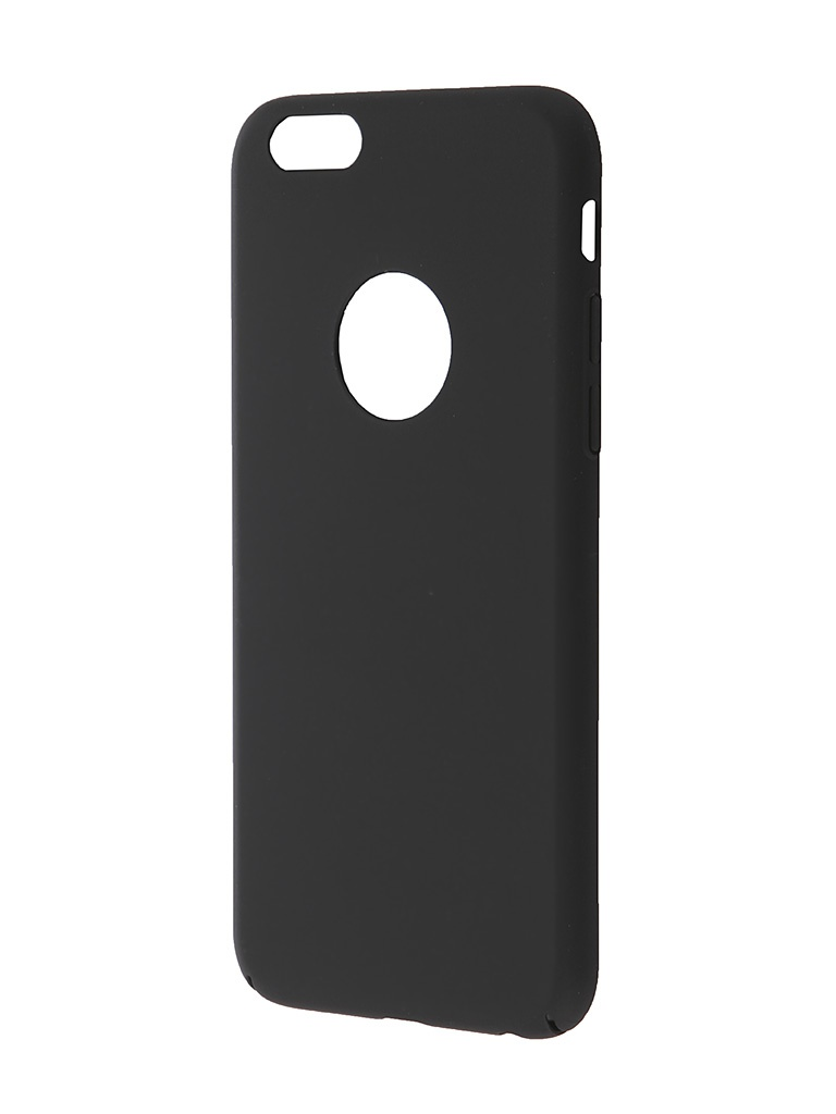 Аксессуар Чехол-накладка iPhone 6 BROSCO Softtouch Black IP6-SS-SOFTTOUCH-BLACK<br>