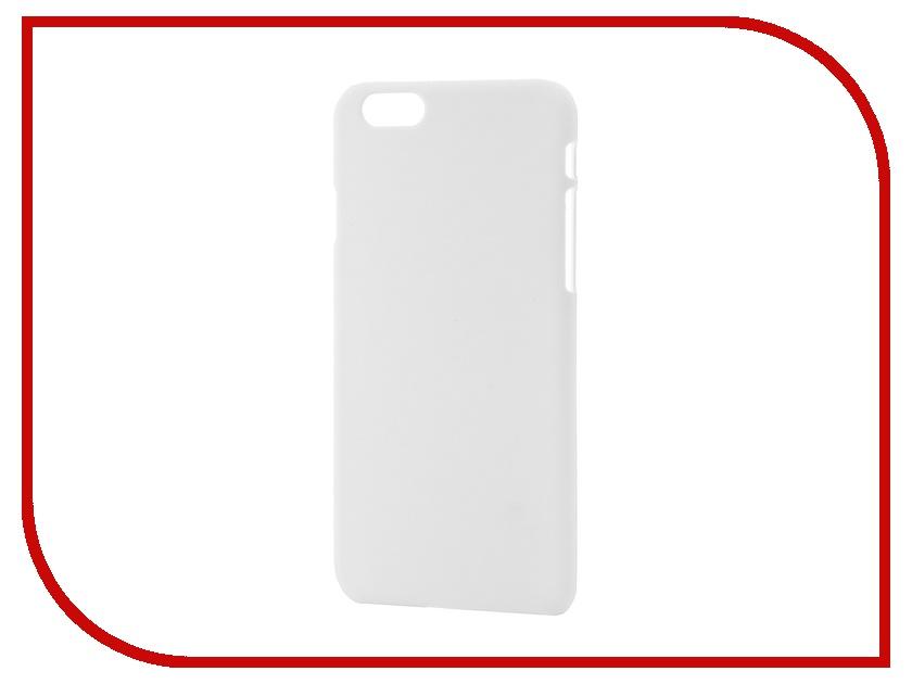 Аксессуар Чехол-накладка BROSCO Softtouch для iPhone 6 White IP6-SOFTTOUCH-WHITE<br>