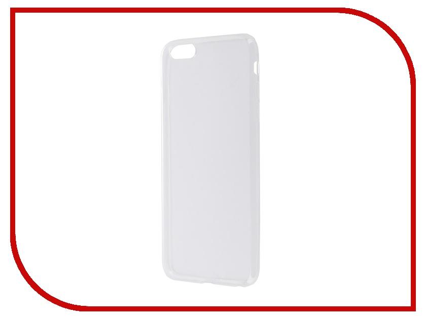 Аксессуар Чехол-накладка BROSCO для iPhone 6 Plus IP6P-TPU-TRANSPARENT<br>